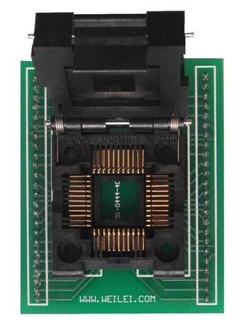 Adaptador Plcc44 Para Dip44 Soquete Zif Sa244
