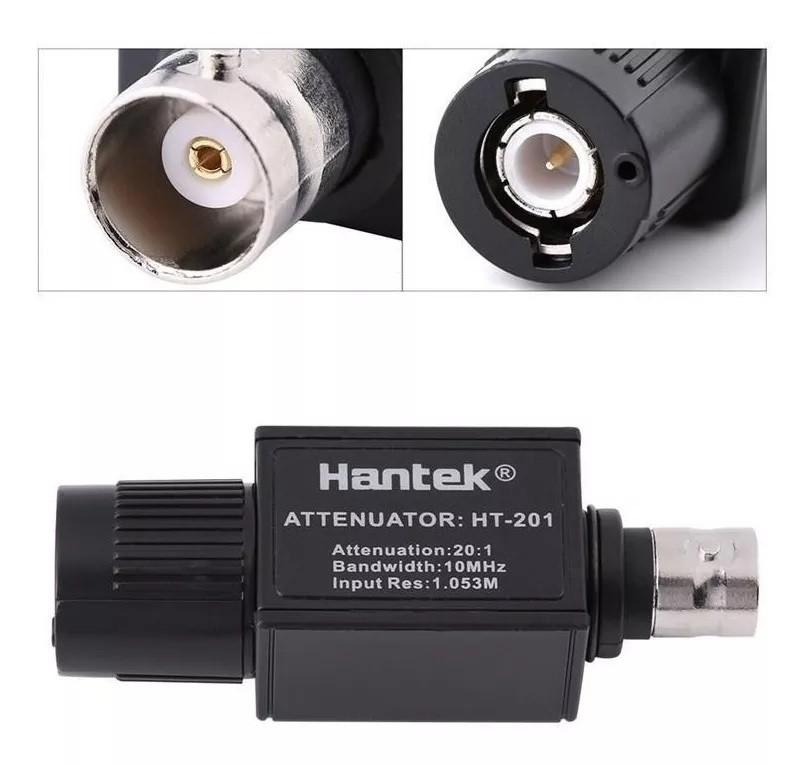 Atenuador de Sinal Hantek Ht-201 20:1 10mhz  Osciloscopio