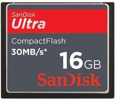 Compact Flash 16gb Sandisk 30mb Cartão De Memória Cf