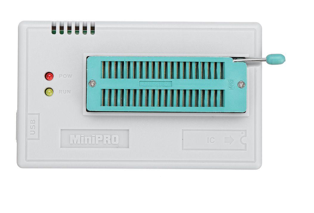 Gravador Eprom Tl866cs Minipro SOIC8 PLCC44 PLCC32 EXTRATOR Pic Bios Flash Tl866 - KIT 1