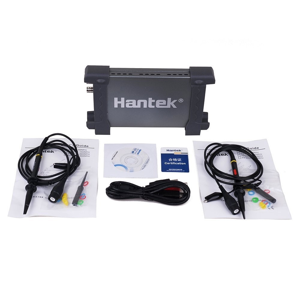 Osciloscópio Digital Pc Hantek 2 Canais 20mhz 48msa 6022be