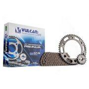 Kit transmissão relação NXR Bros 150 02/15 (Vulcan Premium)