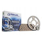 Kit transmissão relação YBR125 E/K Factor 08/ (Vulcan Premium)