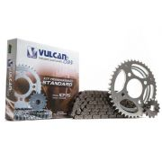 Kit transmissão relação Titan125/Fan 09/13 (Vulcan Standard)