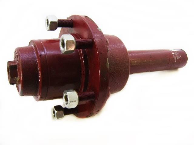 Cubo p/carreta 6 ton 6 furos (c/eixo)