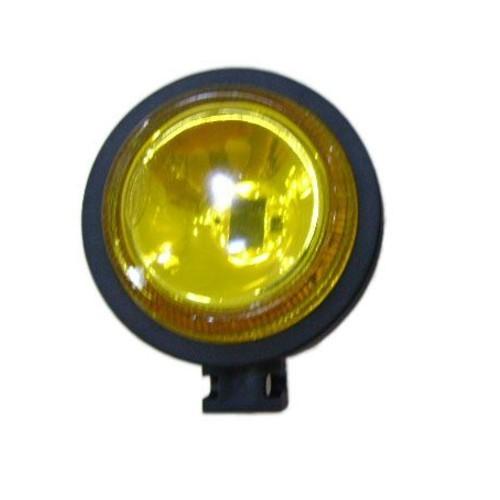 Farol bi-iodo mini redondo amarelo