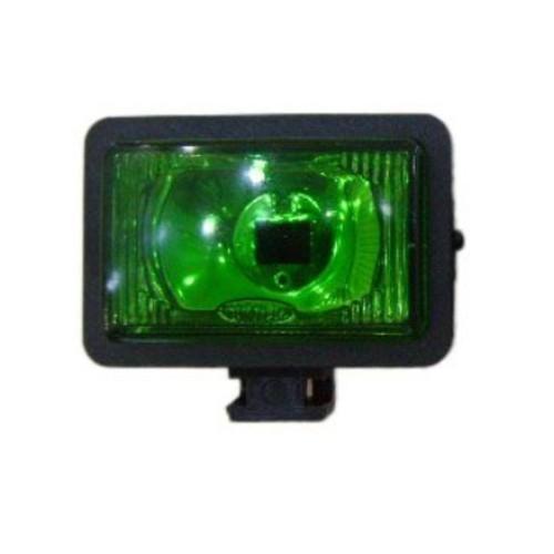 Farol Bi iodo Mini Retangular Verde
