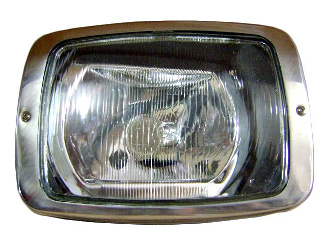 Farol Mercedes-Benz 608 85/89 lente vidro direito (ORGUS)