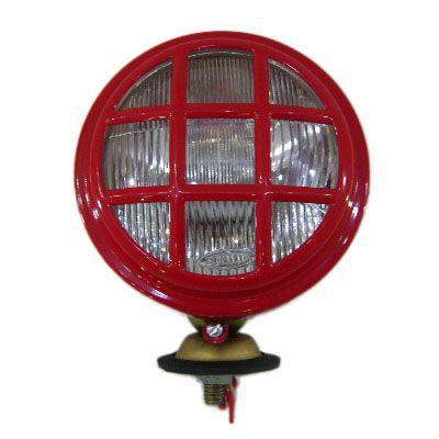 Farol traseiro Massey Ferguson linha 200 - 265 / 275 / 292 vermelho com interruptor