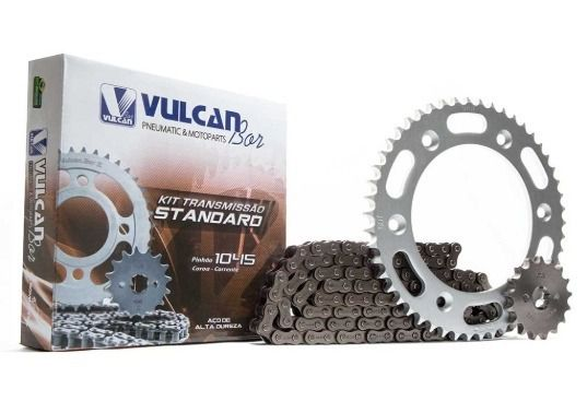 Kit Transmissão Relação Bros 150 02 / 15 (Vulcan Standard)