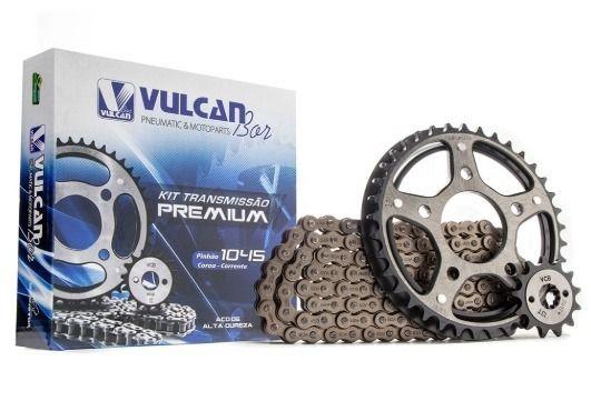 Kit transmissão relação CBX 250 Twister (Vulcan Premium)