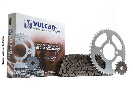 Kit transmissão relação Pop100 07/15 (Vulcan Standard)