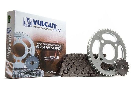 Kit transmissão relação Titan150 KS/ES/Mix Fan(Vulcan Standard)