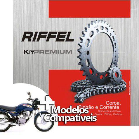 Kit transmissão relação Today/Titan/99(43D/14D/428Hx116L)Riffel