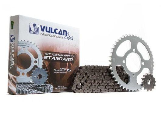 Kit transmissão relação YBR125 E/K Factor 08/ (Vulcan Standard)
