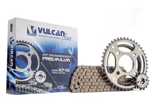 Kittransmissão relação Titan125/Fan 09/13 (Vulcan Premium)