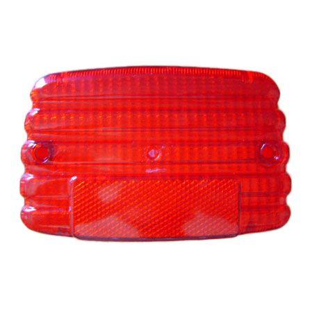 Lente lanterna traseira CG / ML / TU 83/ vermelha