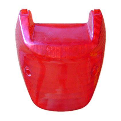 Lente lanterna traseira Titan 125 2000 vermelha