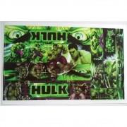 Adesivo Cartela Hulk Jogo
