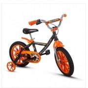 Bicicleta Aro 14 Nathor First Pro Cor Laranja Alumínio