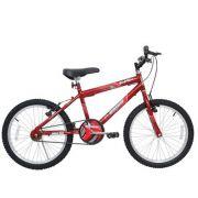 Bicicleta Aro 20 Cairu Aro  Mtb Masculina Super Boy Vermelha