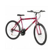 Bicicleta Aro 26 Napole Vittoria 18V Cor Vermelha Milan