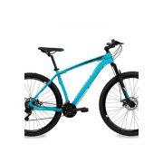 Bicicleta Aro 29 Nitro Redstone Tam 19 Azul 21V Shimano