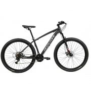 Bicicleta Aro 29 Redstone Chroma Tam 17 Preto 21V Shimano