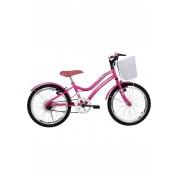 Bicicleta Mist  Aro 20 Feminina Athor Rosa C/Cesta