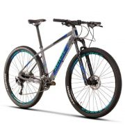 Bicicleta Sense Rock Evo 2020 Azul Cinza 18v Alivio Rockshox