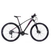 Bicicleta Tsw Jump Preto/Rosa 15.5 Alivio Suspensão Suntour