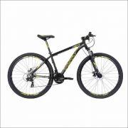 Bicicleta Tsw Ride 29 - T/19 - Preto/amarelo - 21v Tourney