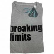 Camiseta Sense T/GG Breaking Limit Cinza