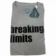 Camiseta Sense T/M Breaking Limit Cinza