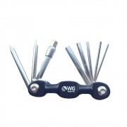 Canivete Chave Allen WG  Aluminio 9 Funções