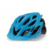 Capacete Absolute Wild Azul/Pto T/L 58/61 Led