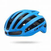 Capacete Speed Mtb Cairbull Ventilado Azul