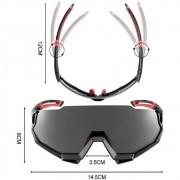 Oculos Rockbros 5 Lentes Polarized 100%UV