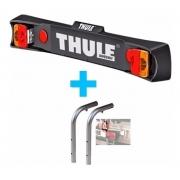 Placa De Luzes Para Suporte De Bike Thule 976 + Adapter 9761