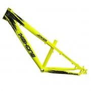 Quadro High One Freeride Joker  26x13  Preto/Amarelo neon