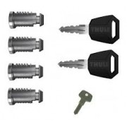Sistema De Chaves Thule One Key System - Kit 4 Fechaduras