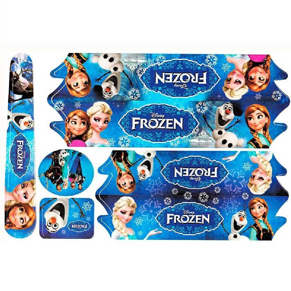 Adesivo Cartela Frozen Jogo