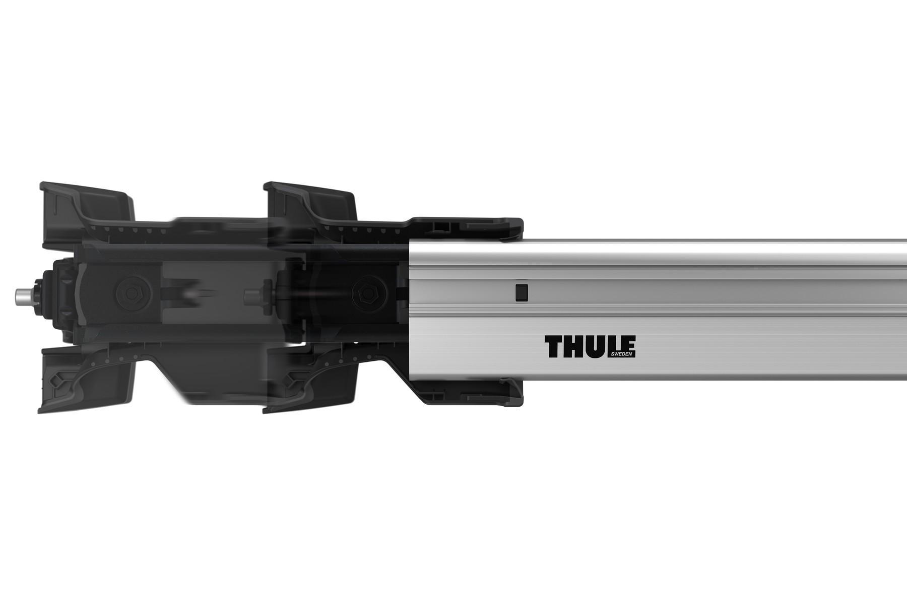 Barra Teto Thule  WingBar Edge 86cm (7213) prata alumínio