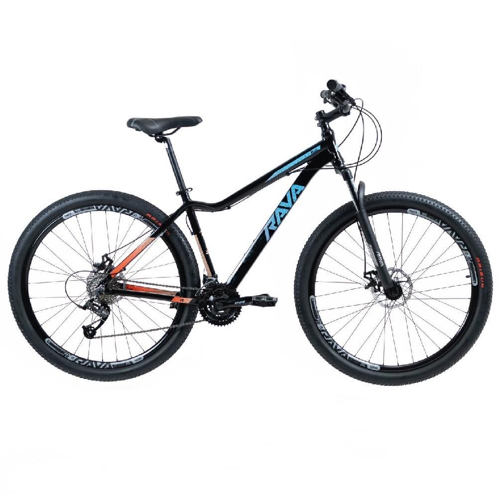 Bicicleta 29  RAVA NINA T/15,5 24V XTIME FREIO MECÂNICO preto