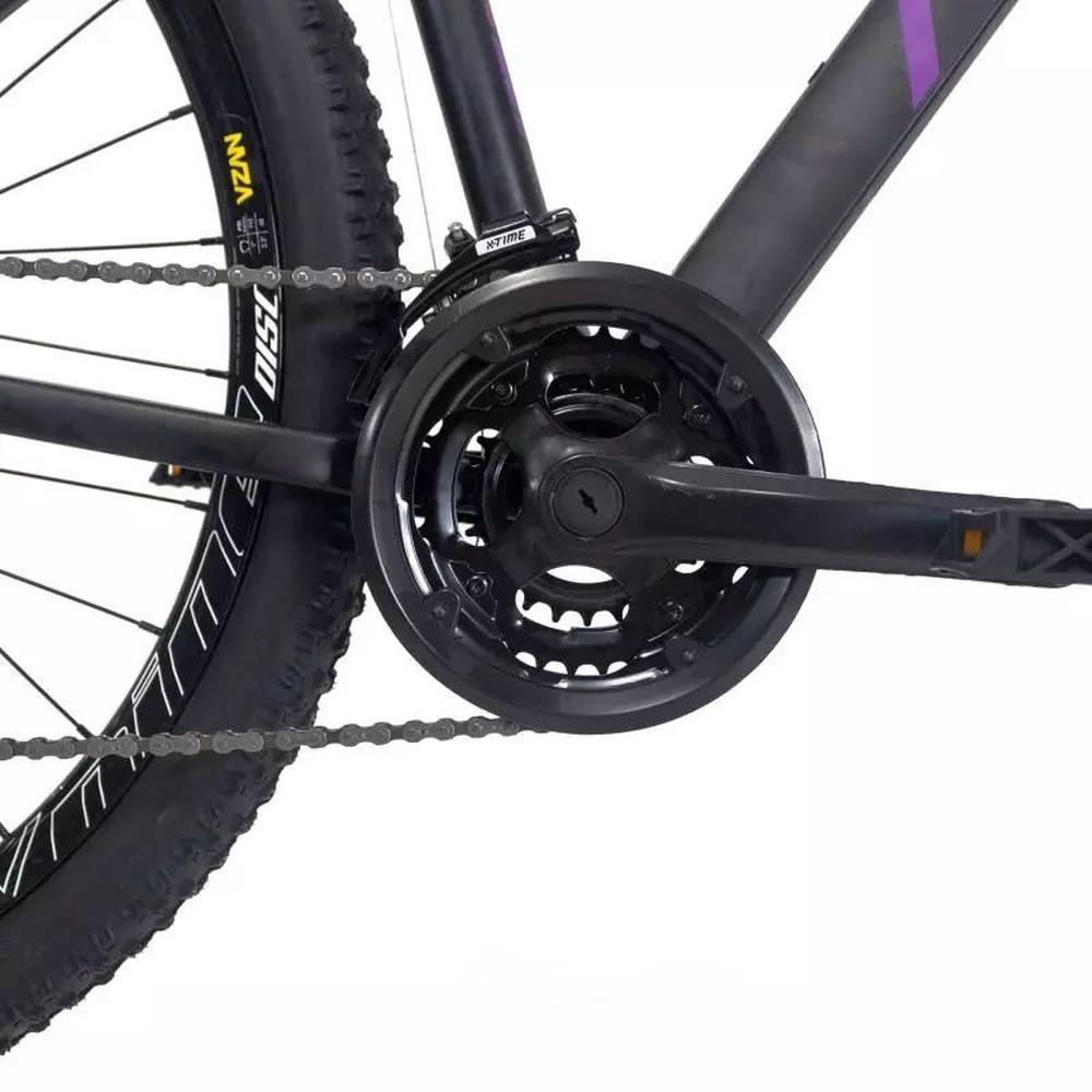 Bicicleta 29  RAVA PRESSURE 21V XTIME T/17 MECÂNICO Preto