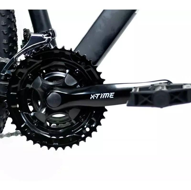 Bicicleta 29  RAVA PRESSURE 24V XTIME FREIO MECÂNICO PRETO