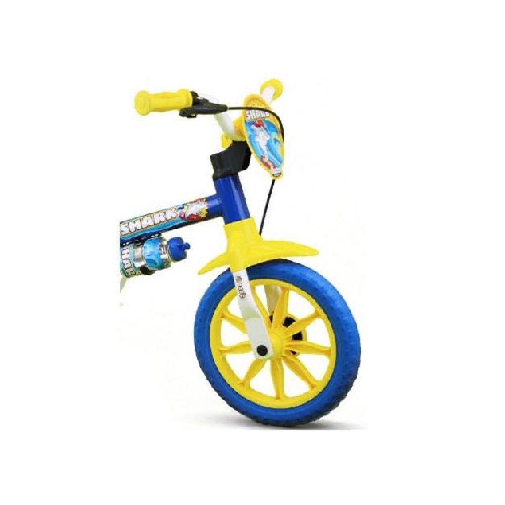 Bicicleta Aro 12 Shark Nathor Azul Masculina