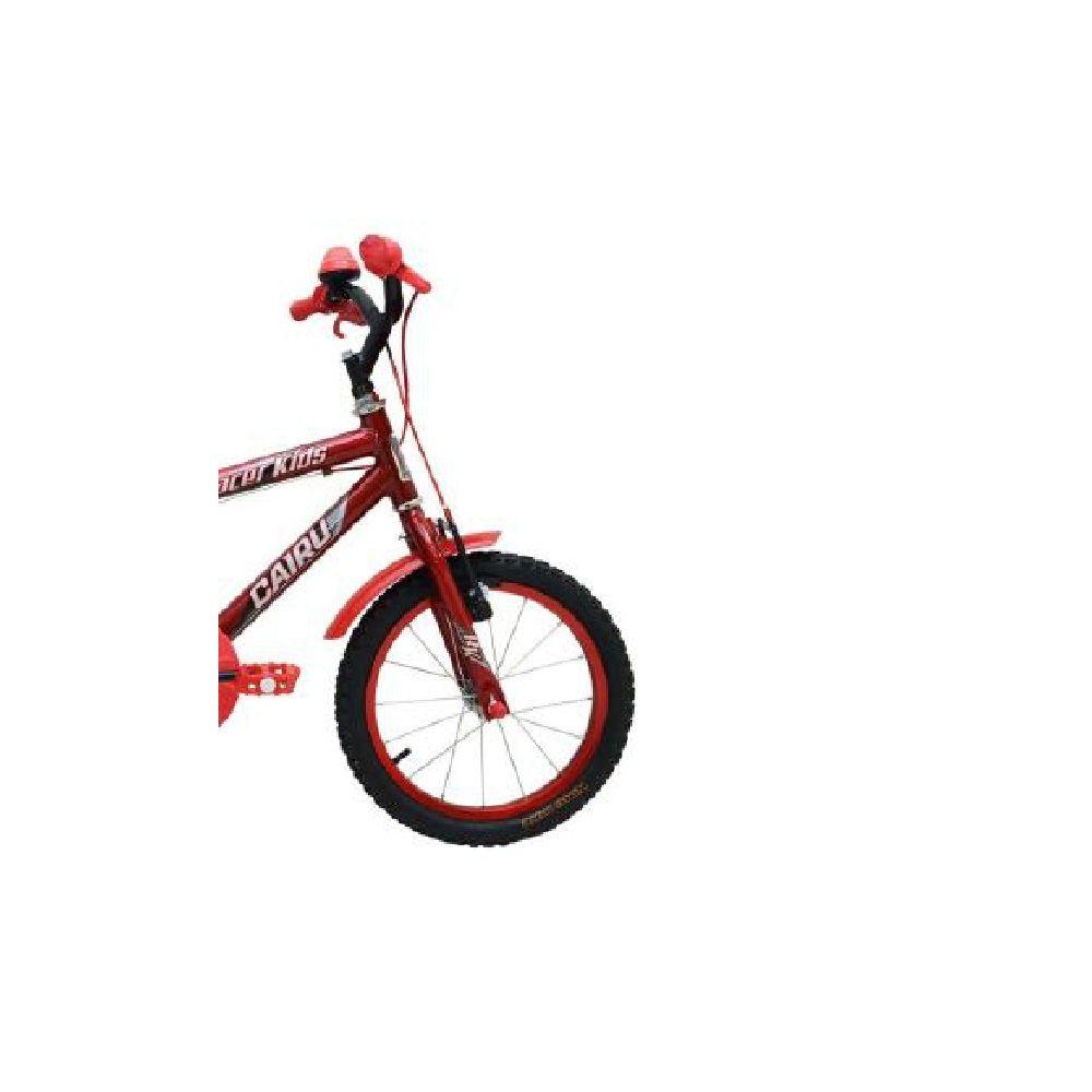 Bicicleta Aro 16 Cairu Race Kids Vermelho Infantil