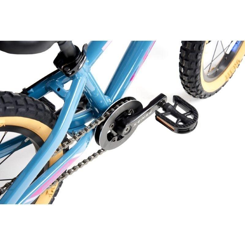 Bicicleta Aro 16 Infantil Mtb Sense Grom 2021 alum aqua/rosa