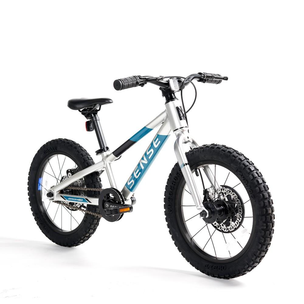 Bicicleta Aro 16 Infantil Mtb Sense Grom 2021 alumínio aqua
